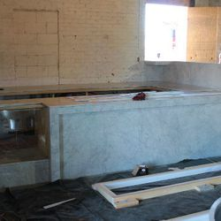 The good folks from CREMA will be manning the marble-finished coffee bar.