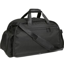 """<strong>Tumi</strong> Alpha Sport Duffel in Black, <a href=""""http://www.tumi.com/product/index.jsp?productId=4209890&prodFindSrc=paramNav#"""">$375</a>"""