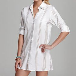 """<b>Tommy Bahama</b> Marina Stripe Boyfriend Shirt Swimsuit Cover Up, <a href=""""http://www1.bloomingdales.com/shop/product/tommy-bahama-marina-stripe-boyfriend-shirt-swimsuit-cover-up?ID=703148&CategoryID=5609&LinkType=#fn=SWIMSUIT_STYLE_M%3DCover%20Up%26sp"""