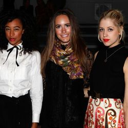 Singer-songwriter Corinne Bailey Rae, TV personality Louise Roe, and Peaches Geldof.
