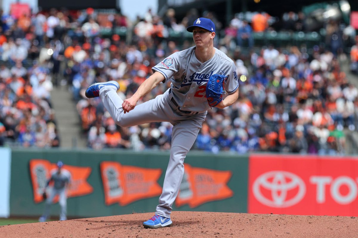 MLB: Game 1-Los Angeles Dodgers at San Francisco Giants