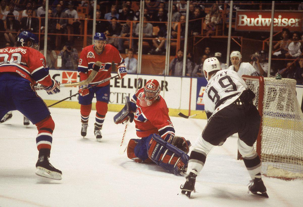 Patrick Roy On The Ice
