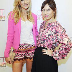 Hosts Katrina Bowden and Nicole Chavez