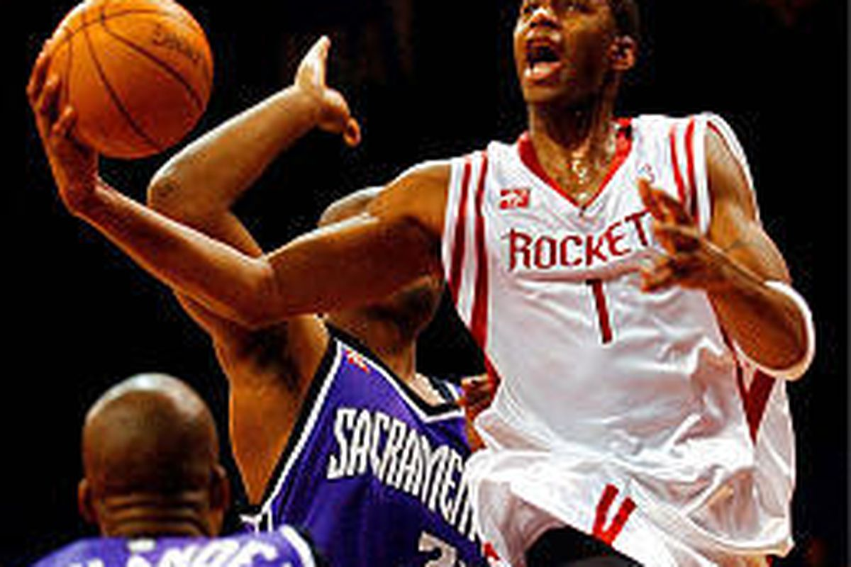Tracy McGrady will give Houston a new look this season.