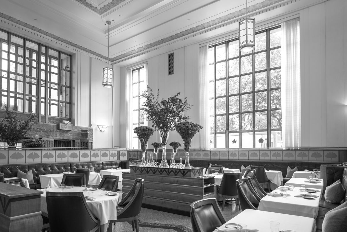 Eleven Madison Park's dining room