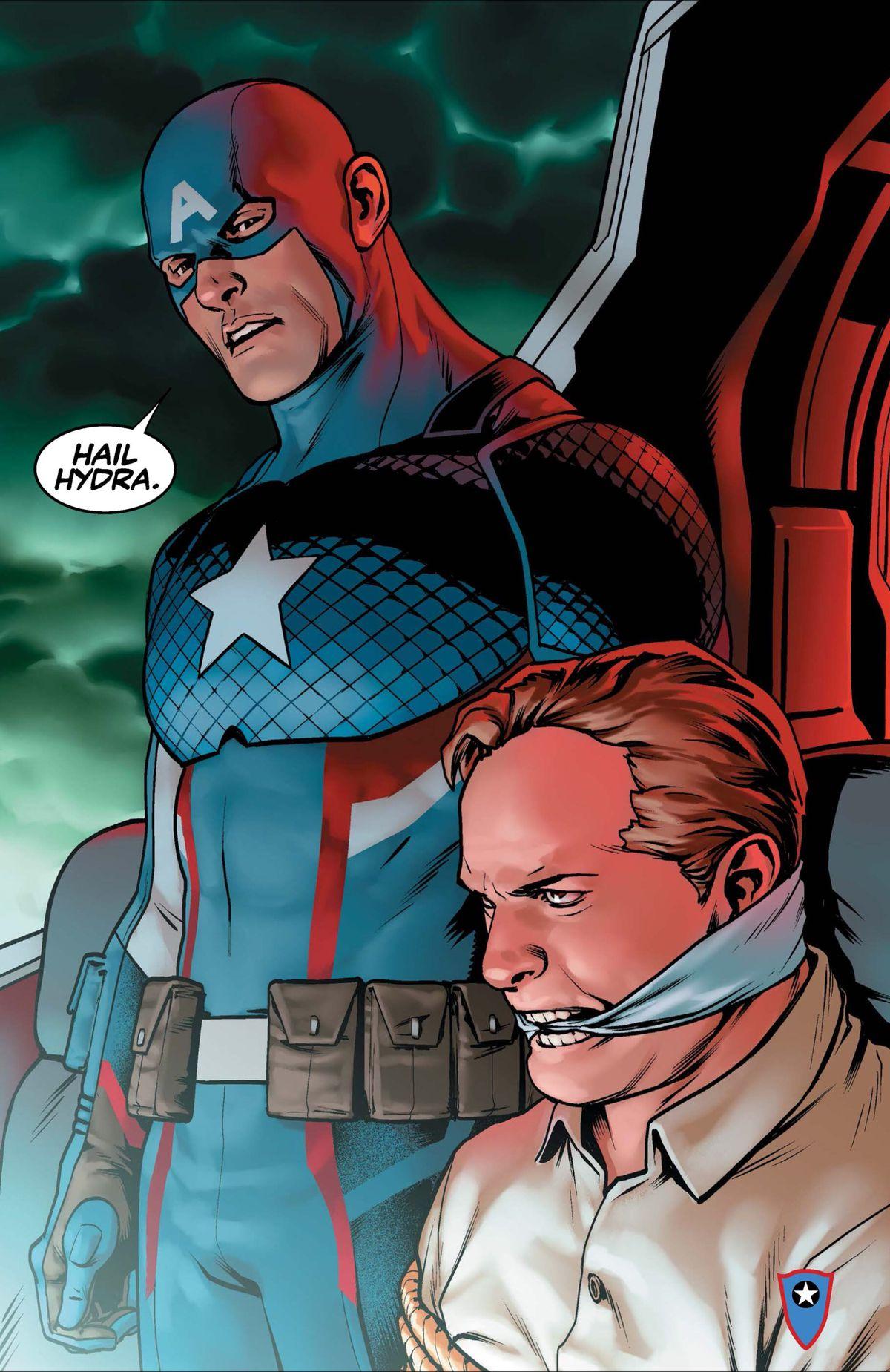 """Captain America: Sam Wilson #1 - """"hail Hydra"""""""