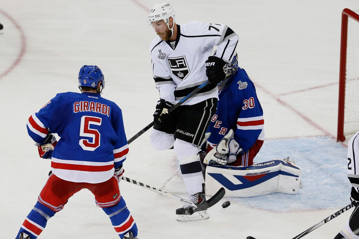 Jeff Carter is a definite possibility for the Conn Smythe Trophy.