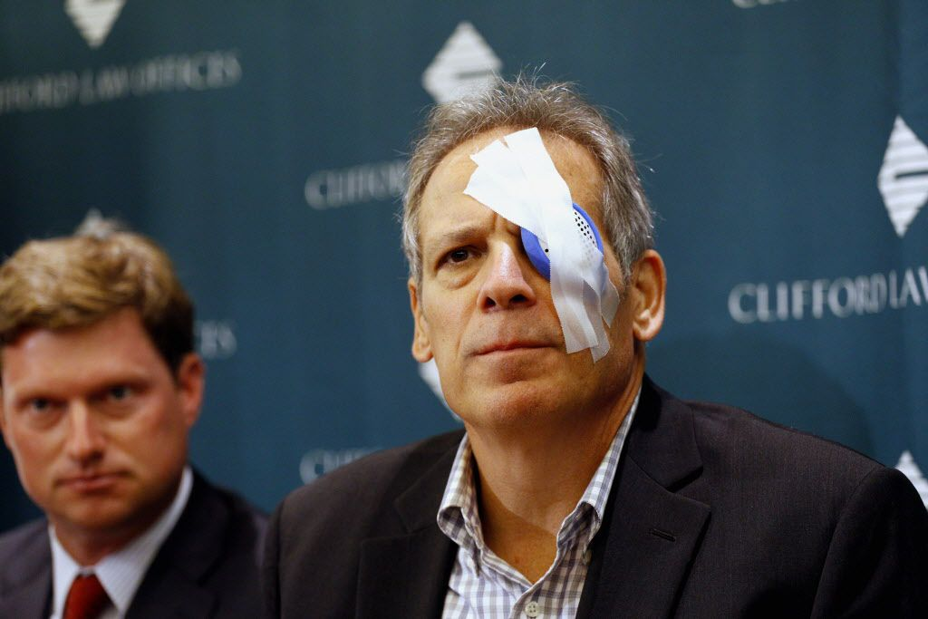 """A lawsuit was filed against Major League Baseball and the Chicago Cubs on behalf of John """"Jay"""" Loos, 60, who permanently lost the sight in his left eye when a foul ball hit him Aug. 29 at Wrigley Field. Loos spoke to reporters Monday morning with his atto"""