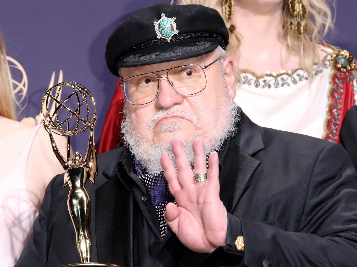 George R.R. Martin promises fans he is staying safe and working on ...