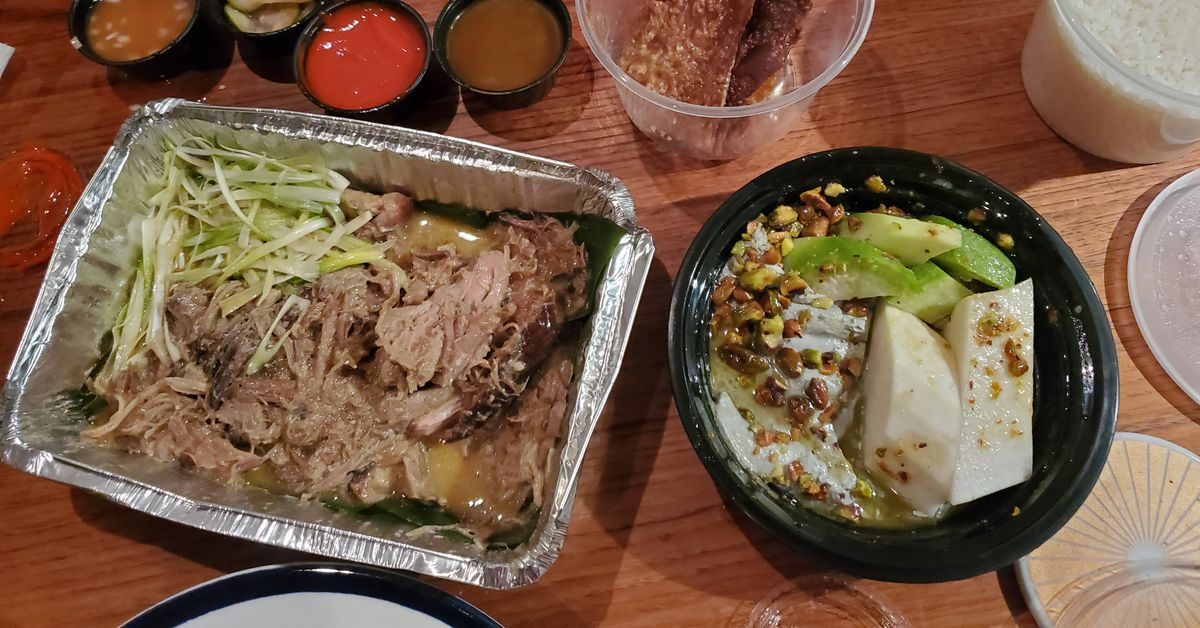 Creative Ceramic Double Noodle Bowl Korean Household Mix Noodle Bowl Fried Sauce Noodles Double Circle Bowl Kitchen Tableware