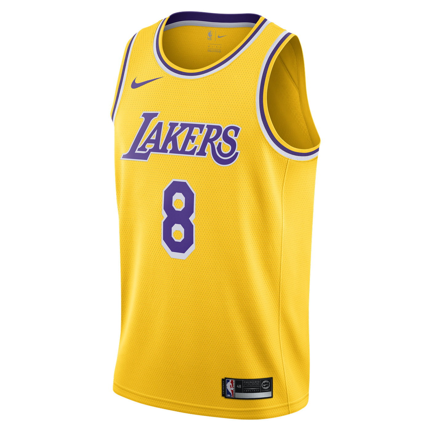 b588538f9 Lakers fans can celebrate  Kobe Bryant Day  with a new Nike jersey ...