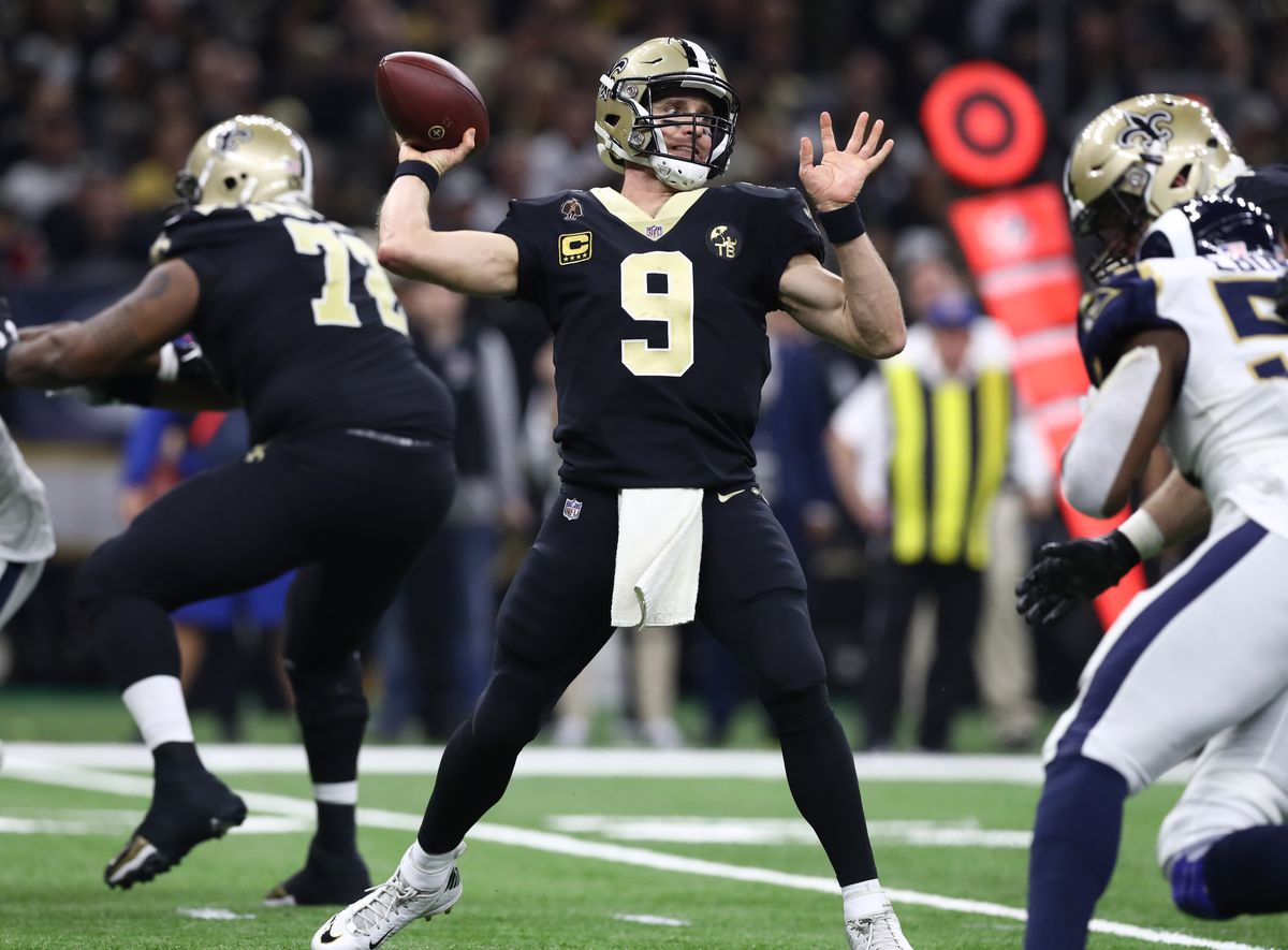 NFL: NFC Championship Game-Los Angeles Rams at New Orleans Saints