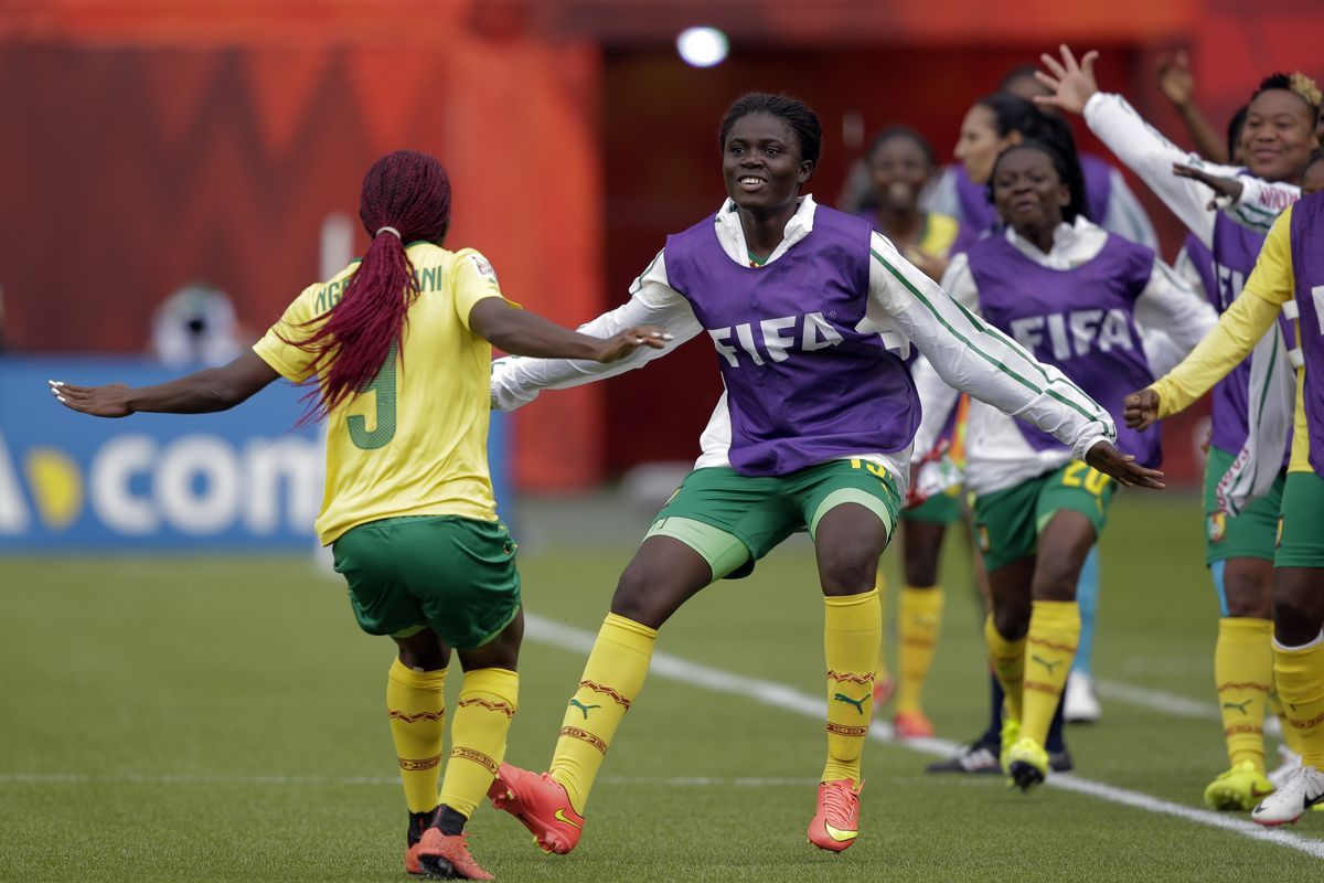 Cameroon celebrate their progression, joined by a pair of former champs, and a strong Australian side