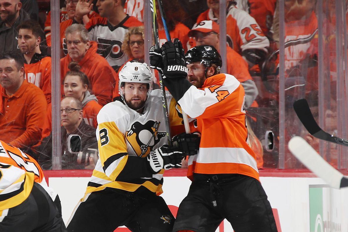 Pittsburgh Penguins v Philadelphia Flyers - Game Three
