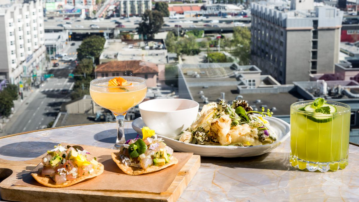 Virgin Hotels SF Opens Rooftop Bar Everdene for Views and ...