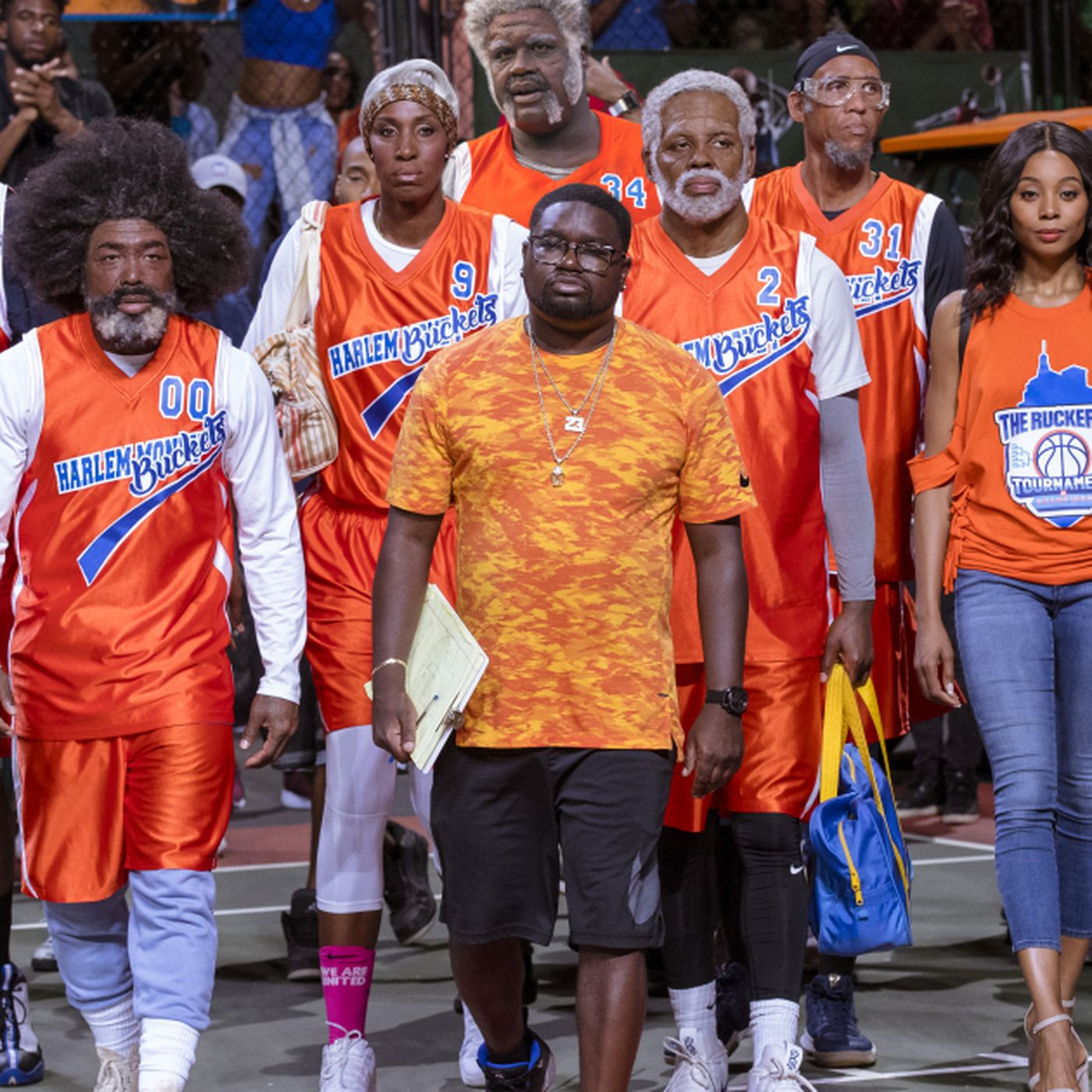 timeless design 577cc db27e Uncle Drew': NBA greats step up their joke game in a winning ...