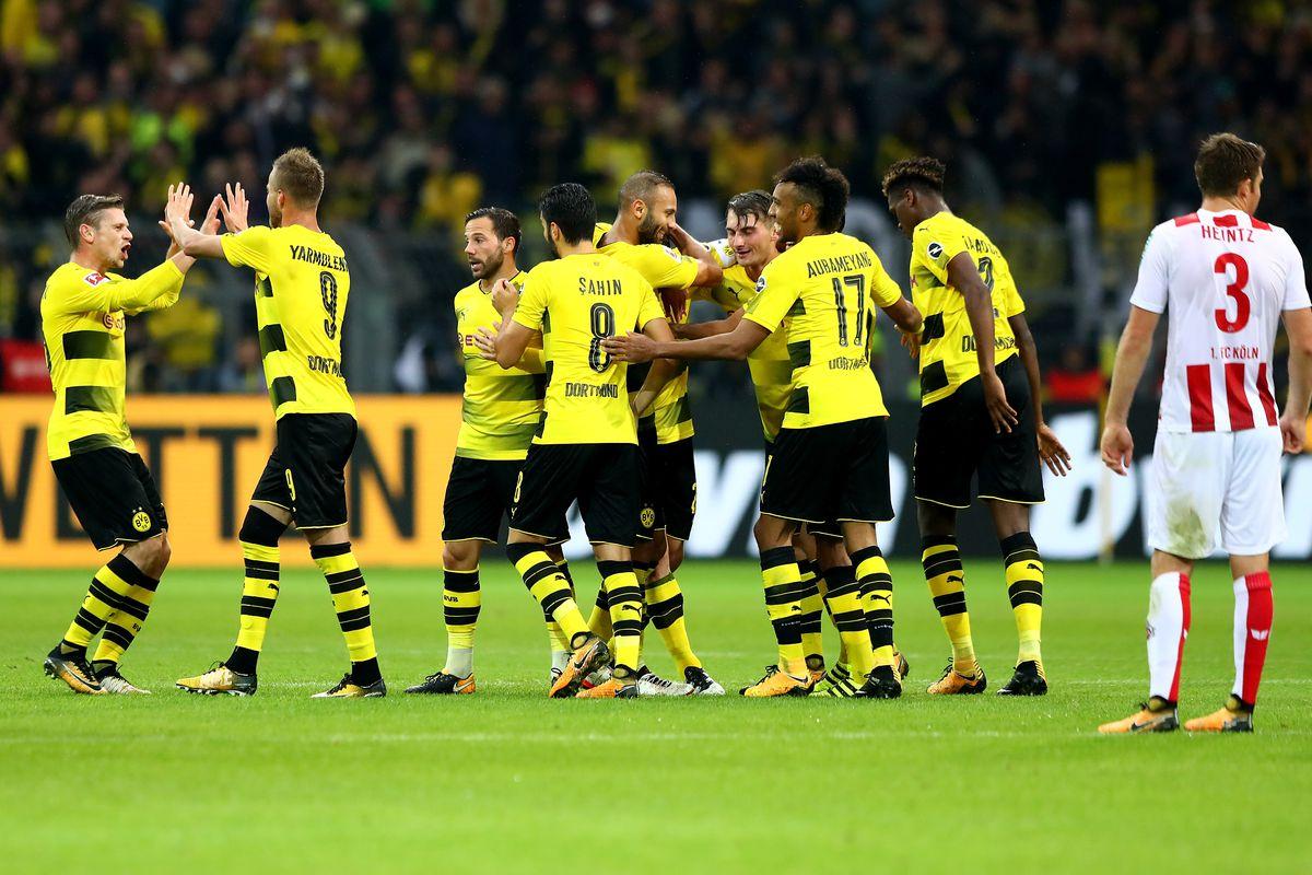 Borussia Dortmund Vs Hamburg