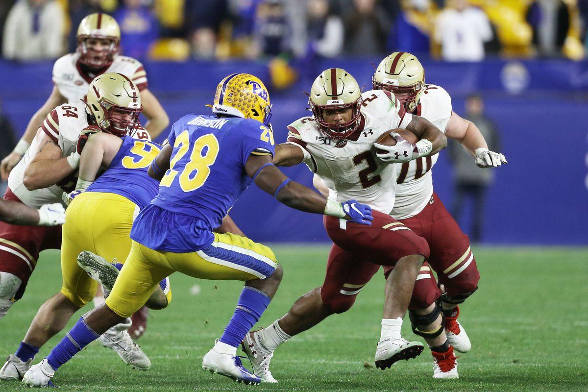 NCAA Football: Boston College at Pittsburgh