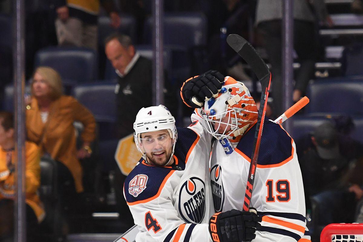 NHL: Edmonton Oilers at Nashville Predators