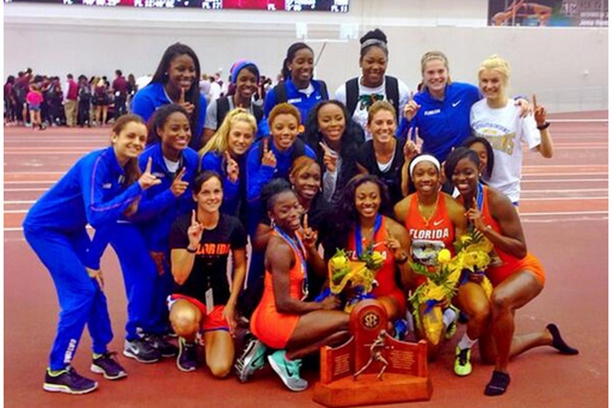Your 2014 SEC Indoor Champions!