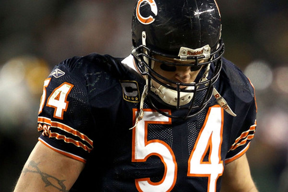 Did we witness the end of the Brian Urlacher era in Chicago?
