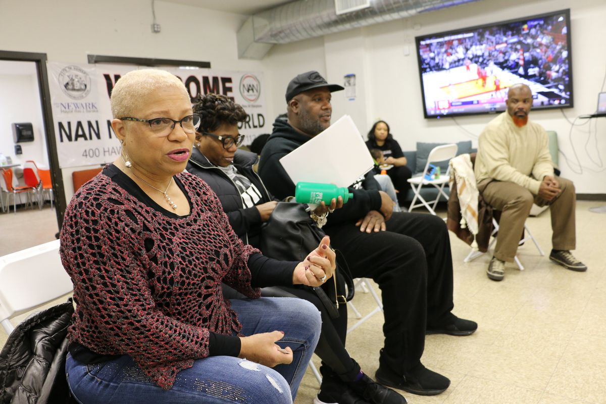 Antoinette Baskerville Richardson, the mayor's chief education officer, spoke during a community-school forum in the South Ward in Dec. 2018.