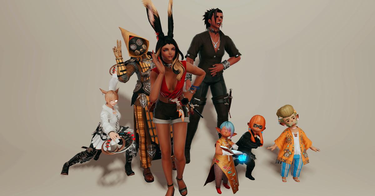 أزياء Final Fantasy 14 الرائعة وكيف أصبحت 1
