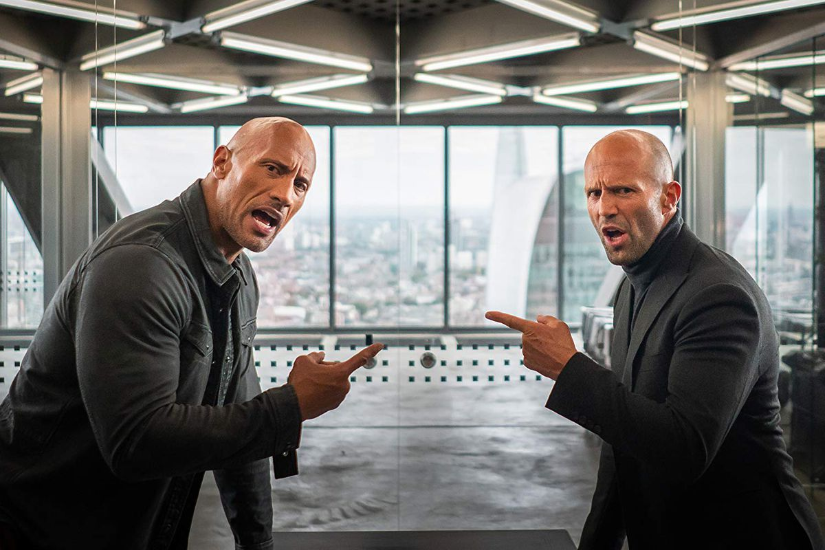 Image result for the rock and jason statham hobbs and sahw