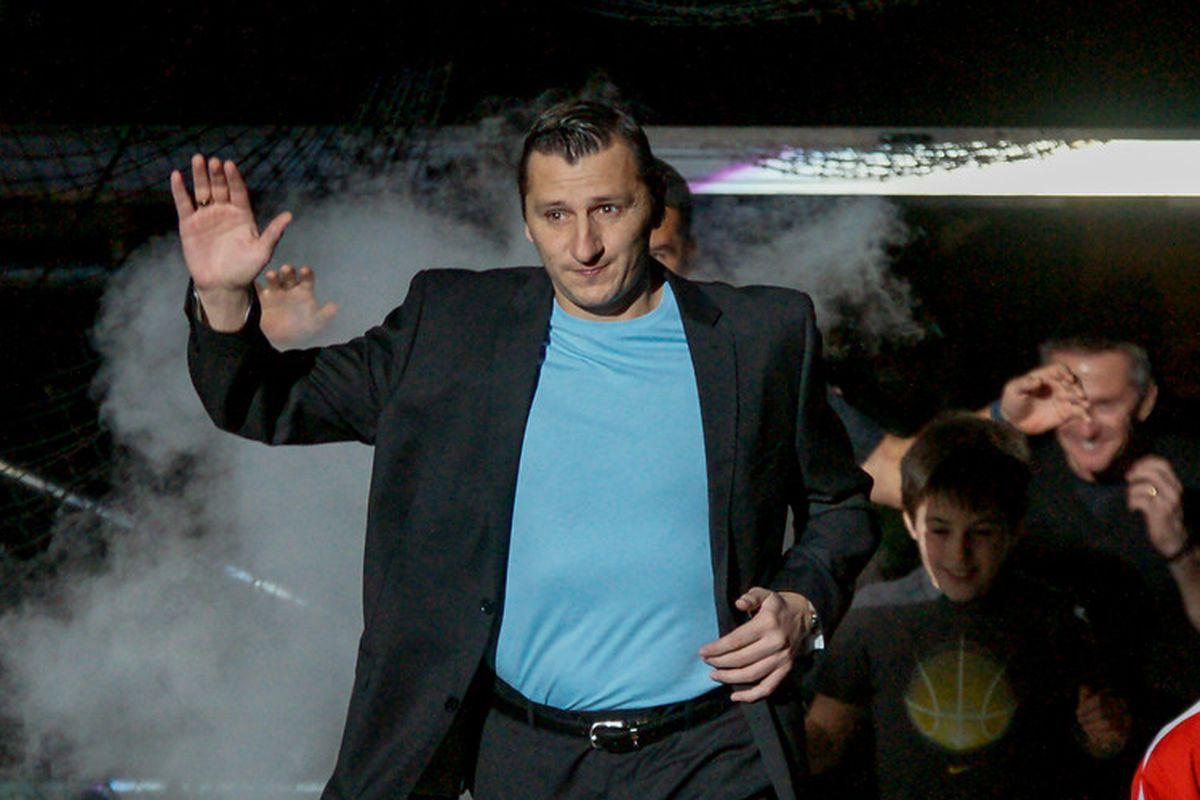 Comets head coach Vlatko Andonovski