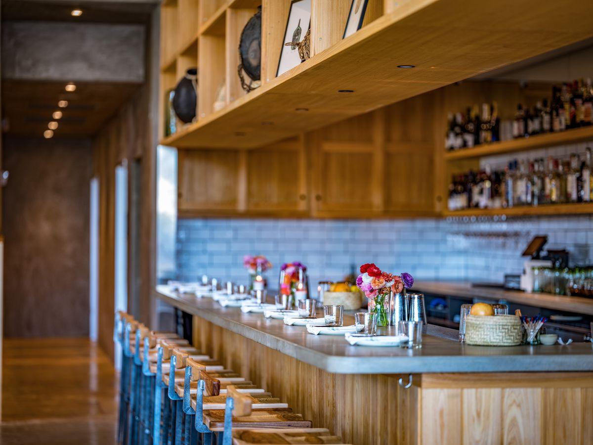 The bar at Suerte