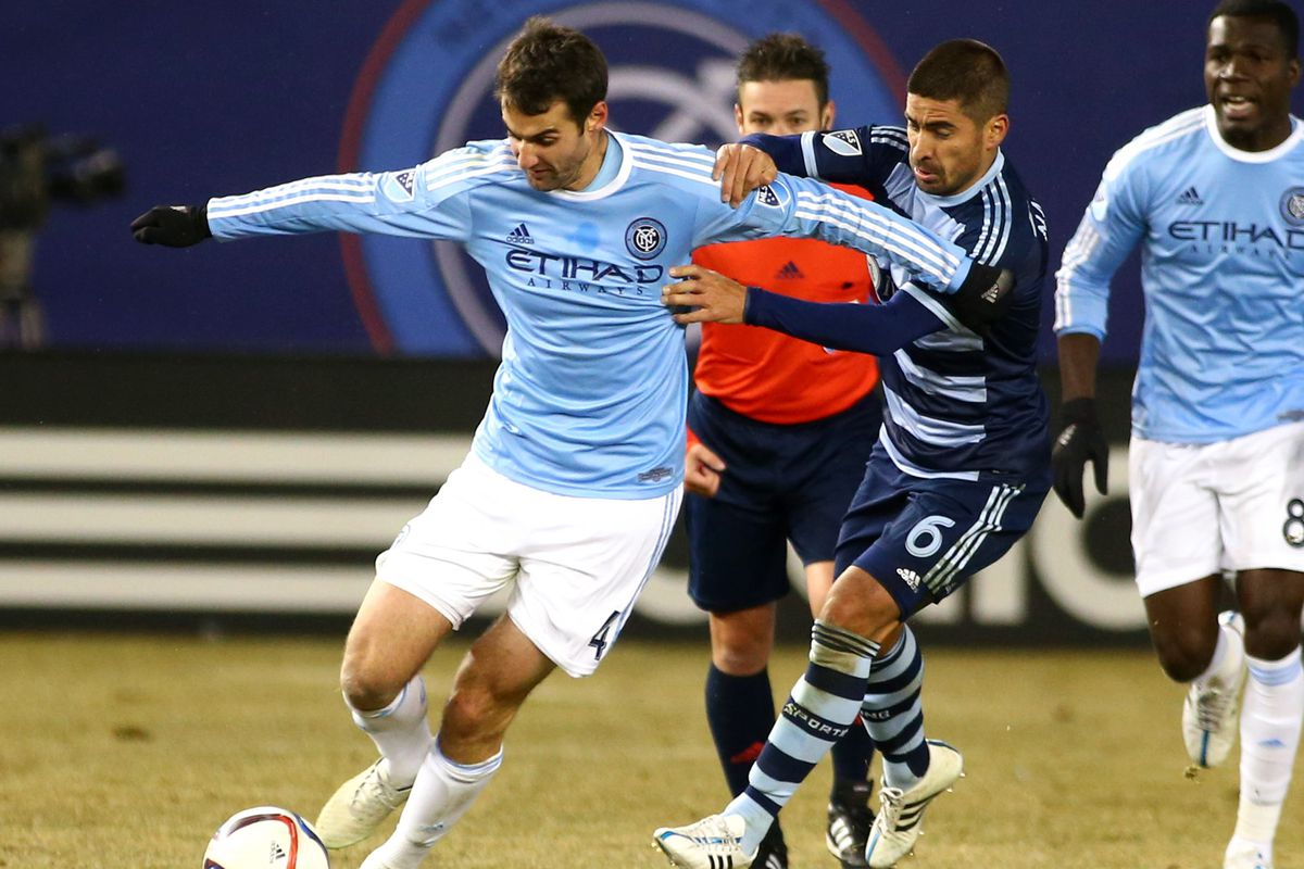 Paulo Nagamura is unlikely to see the field against NYCFC this year due to injury.