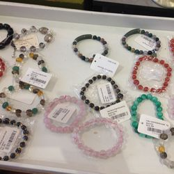 Assorted bracelets, $3.25-$6.25 (was $6.50-$12.50)