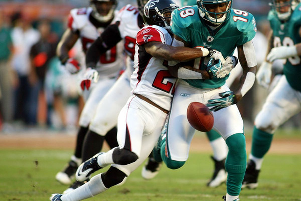 Whither Brent Grimes? (Photo by Marc Serota/Getty Images)