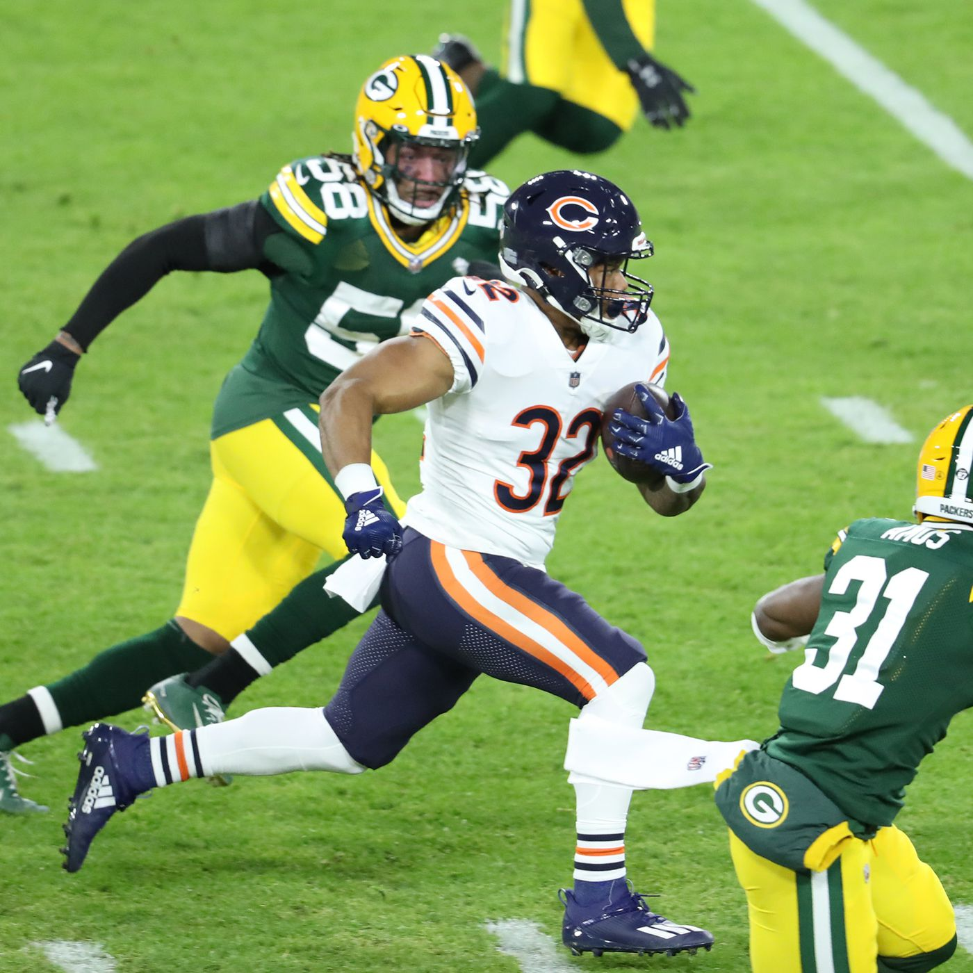 Bears Vs Packers Snap Counts Stats And More Windy City Gridiron