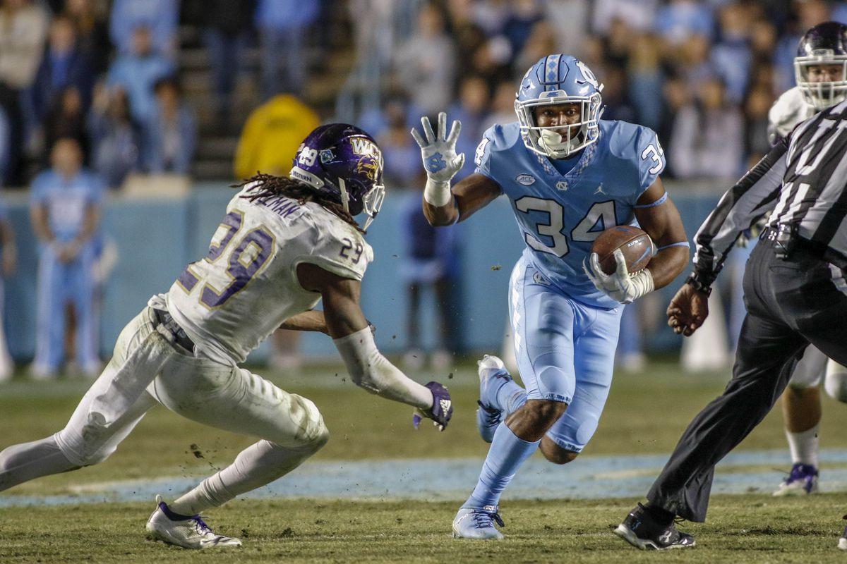 NCAA Football: Western Carolina at North Carolina