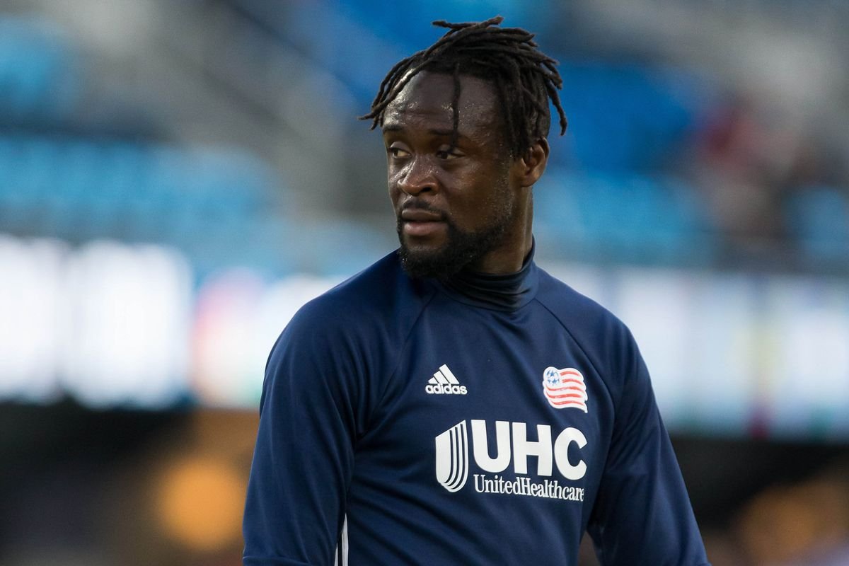 Kei Kamara and the Revolution are coming to play the Red Bulls