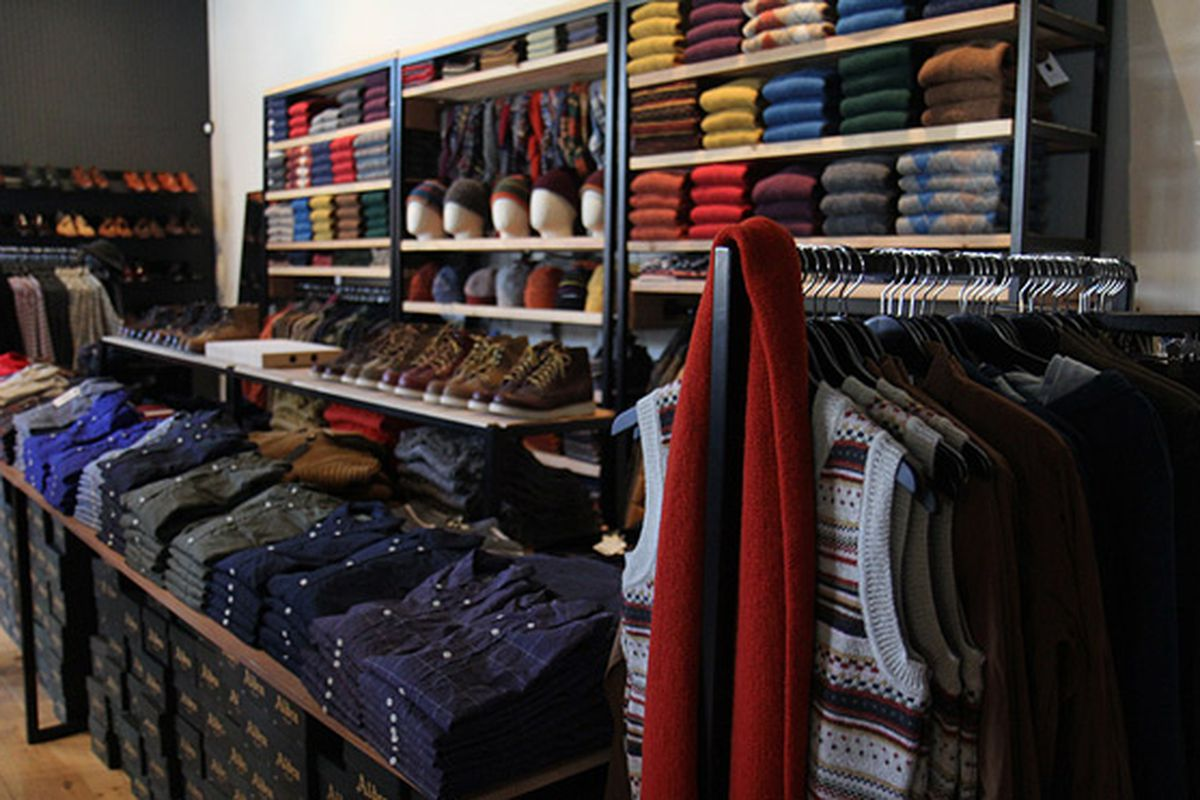 Image of SF boutique via Unionmade