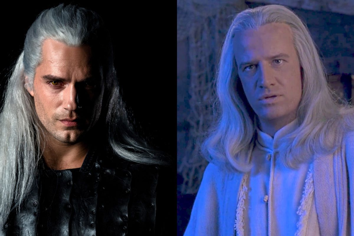 Henry Cavill S Long Flowing Silver Wig For The Witcher