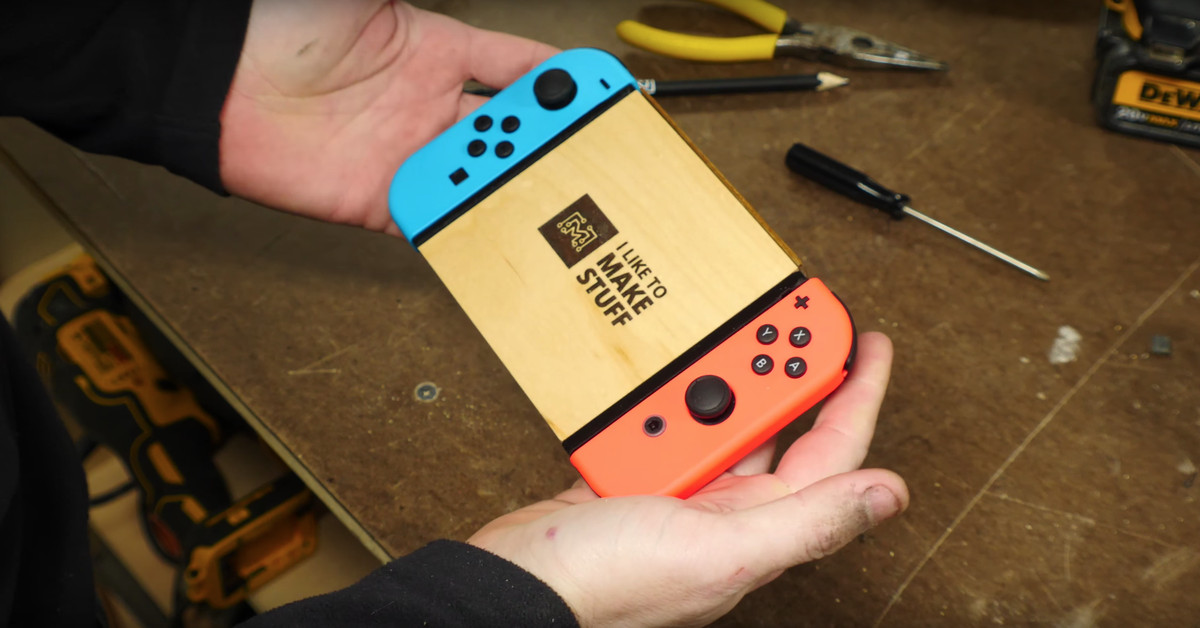 Avoid losing your Nintendo Switch's tiny game cards with this DIY storage controller