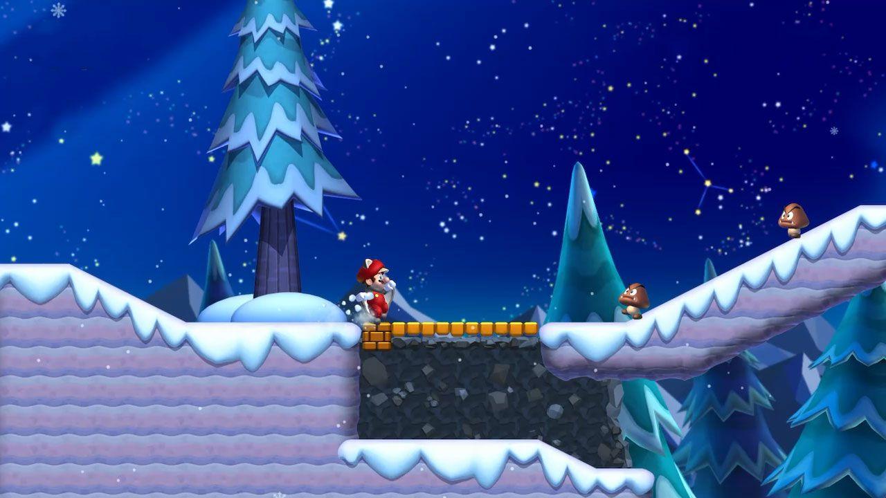 Frosted Glacier Star Coins locations: New Super Mario Bros