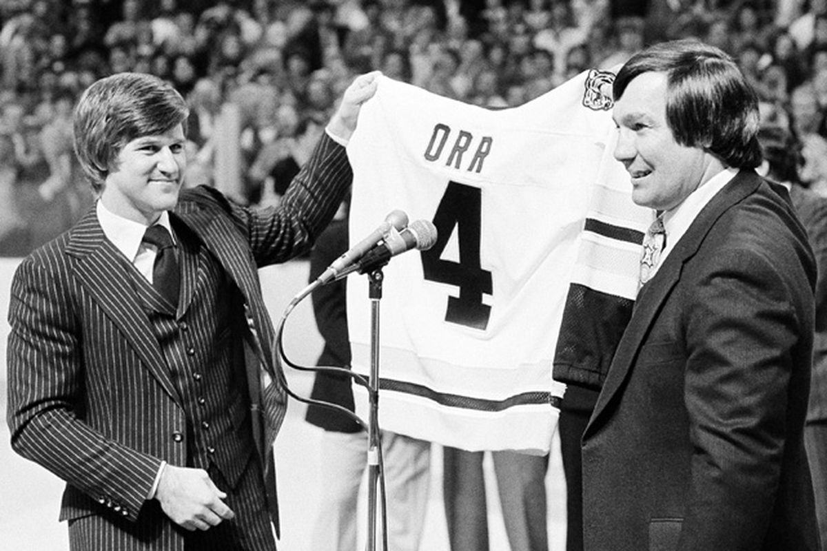8b6d39ed6 This Week In Bruins History  Bruins Retire Number 4 - Stanley Cup of ...