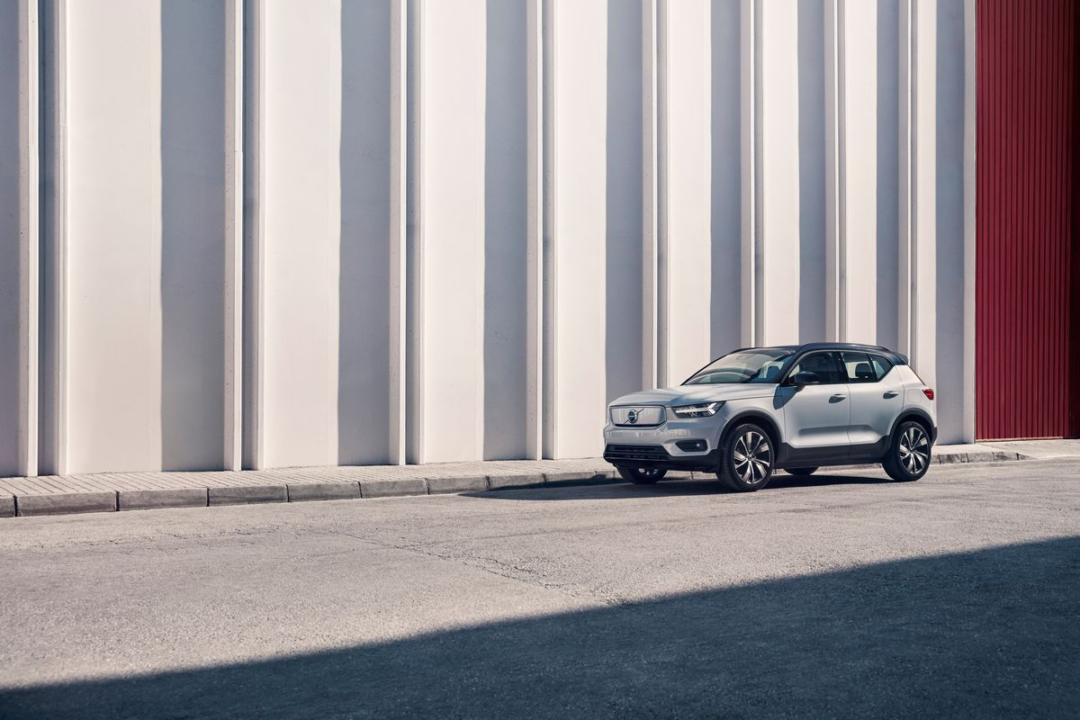 Volvo Unveils Its First Fully Electric Car And Pledges To Go