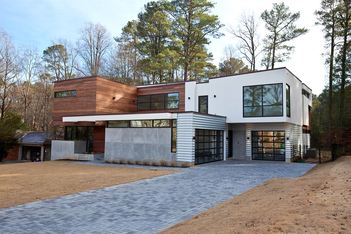 Atlanta Design Festival Meet The Eclectic Modern Homes On This