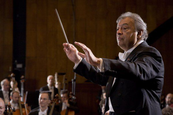 """Zubin Mehta will lead the Israel Philharmonic in Ravel's """"La Valse""""; Beethoven's """"Symphony No. 3"""" (""""Eroica""""), and """"A Journey to the End of the Millennium,"""" a symphonic poem by Josef Bardanashvili, on Sunday."""