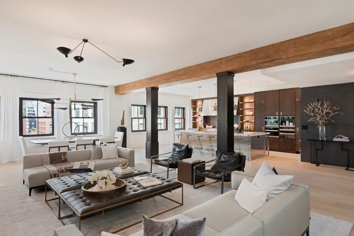 443 Greenwich Street's first penthouse flip appears for $17.3M
