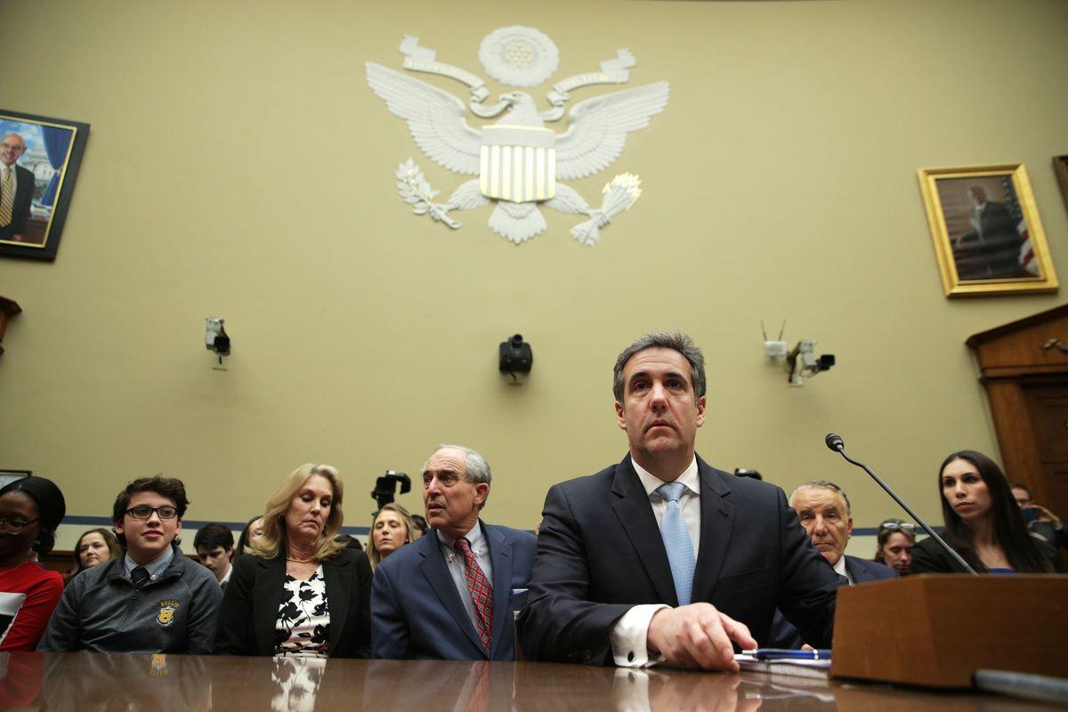 Cohen testifies before Oversight Committee