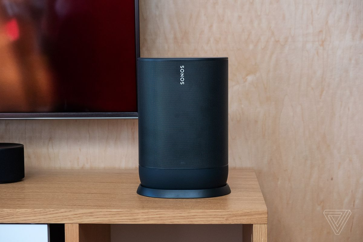 Sonos' first portable speaker is the $399 Move - The Verge