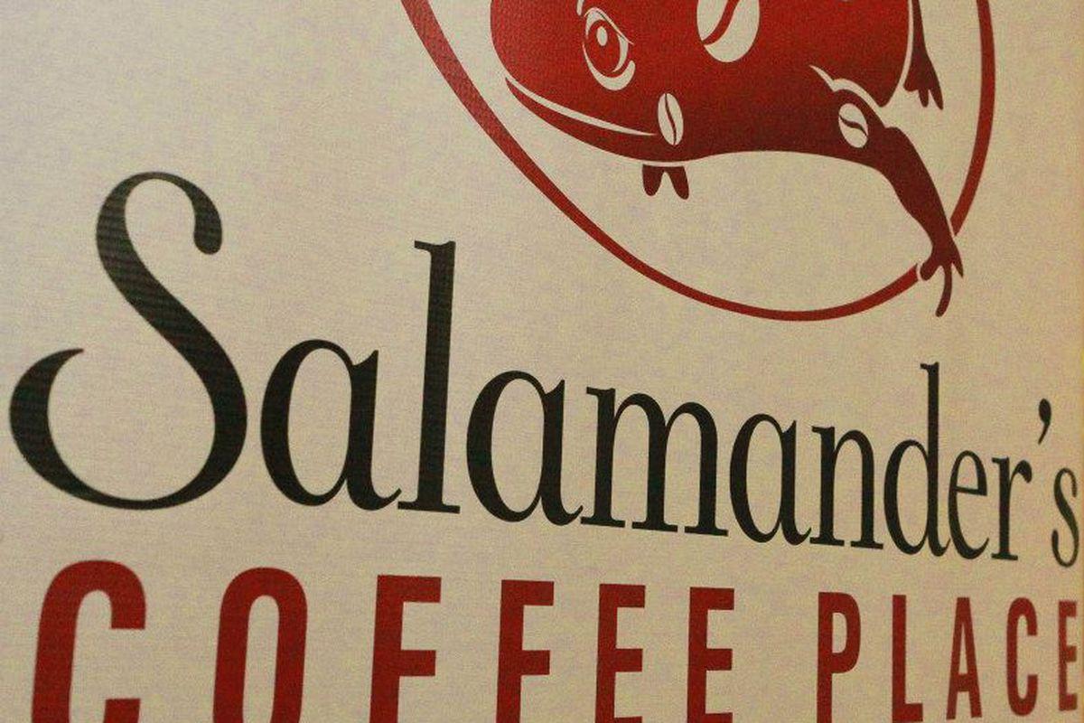 Salamander's Coffee Place logo