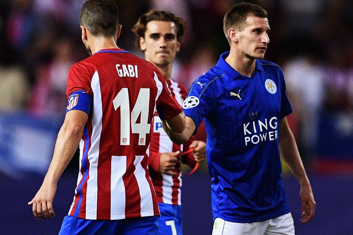 Club Atletico de Madrid v Leicester City - UEFA Champions League Quarter Final: First Leg