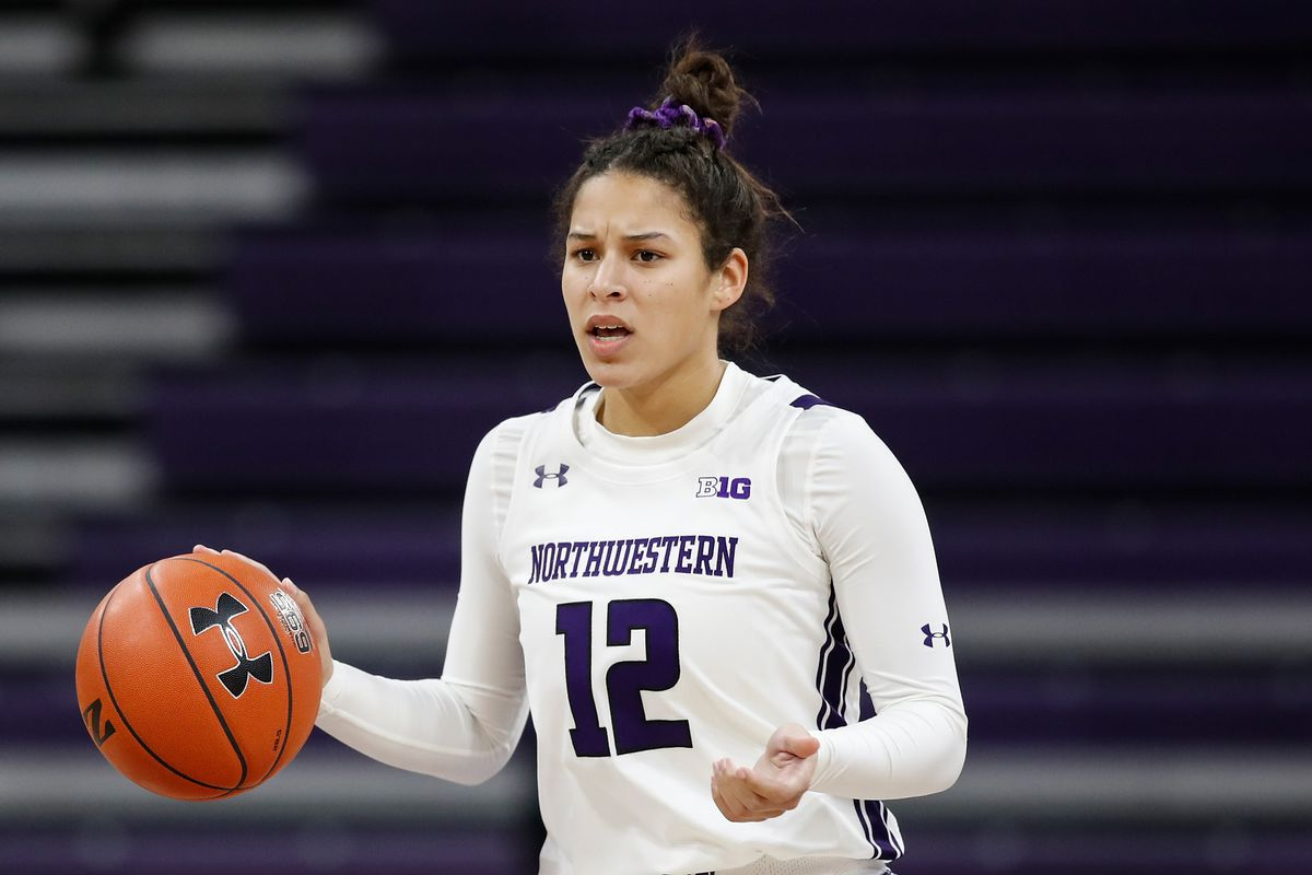 Veronica Burton scored 19 points and had five steals against Penn State.